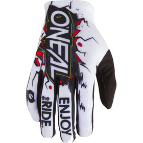 O'Neal Matrix Gloves Villain Youth white